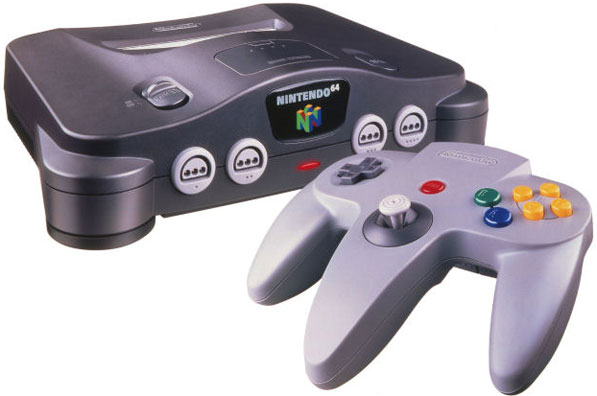 Nintendo 64, pelikonsoli