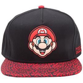 Nintendo - Super Mario Rubber Patch Snapback lippis