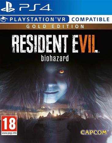 Resident Evil 7 (VII): Biohazard Gold Edition, PS4 -peli