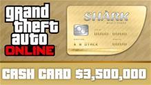 Grand Theft Auto V (GTA 5) + Whale Shark Cash Card, PC-peli