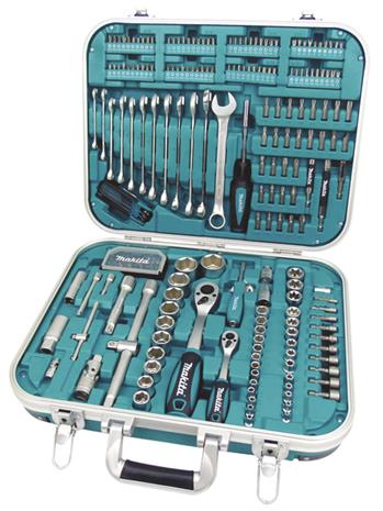 Makita P-90532, 227-osainen työkalu- ja tarvikesarja
