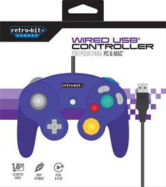 Retro-Bit Gamecube Controller, GameCube -ohjain