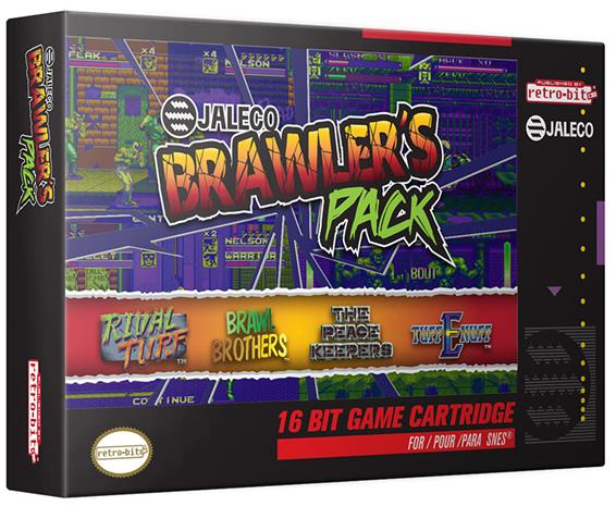 Brawler's Pack, SNES -peli