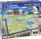 Ancient Greece National Geographic 4D Puzzle (600 pieces) - Boardgame