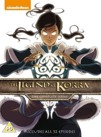 The Legend Of Korra: Koko sarja, TV-sarja