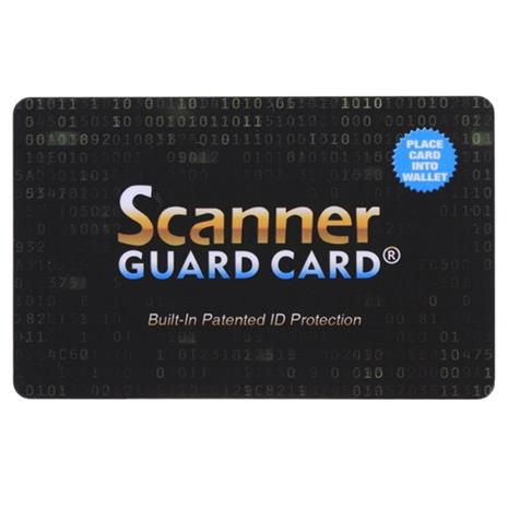 RFID-suoja, skimmauksen estävä kortti