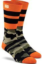 100% Troop Athletic sukat , musta/oliivi