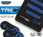 Retro-Bit Super Retro Trio + HD PAL, SNES / NES / Mega Drive -konsoli