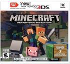Minecraft New Nintendo 3DS Edition, Nintendo 3DS-peli