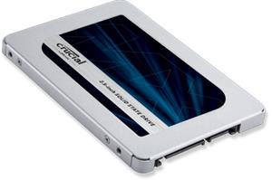 "Crucial MX500 (250 GB, 2.5"", SATA 6Gb/s) CT250MX500SSD1, SSD-kovalevy"