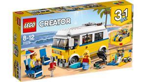 Lego Creator 31079, aurinkoinen surffipakettiauto