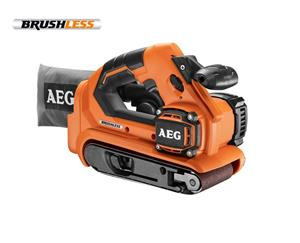 AEG Powertools BHBS18-75BL-0 (4935459582) 18V, nauhahiomakone (ilman akkua ja laturia)
