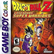 Dragon Ball Z Legendary Super Warrior, Gameboy Color -peli