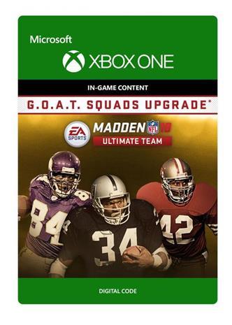 Madden NFL 18 - G.O.A.T. Squads Upgrade, Xbox One -peli
