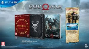 God of War Limited Edition (2018), PS4-peli