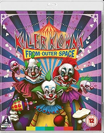 Killer Klowns from Outer Space (1988, Blu-Ray + dvd), elokuva