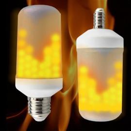 Kaksipuolinen LED liekki -tunnelmavalo