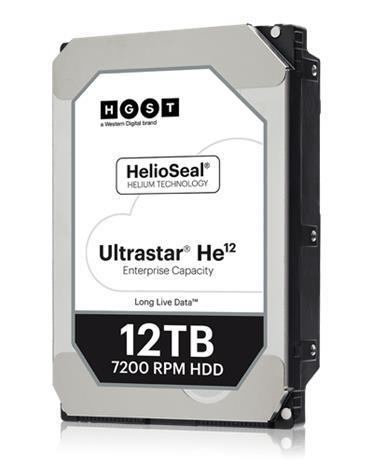 "HGST Ultrastar He12 (12 TB, 3.5"" SATA) HUH721212ALE604/0F30146, kovalevy"