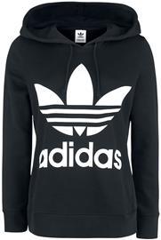 Adidas Trefoil Hoodie Naisten huppari musta-valkoinen. Halvin hinta a8bf921f04