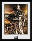 Framed Collectors Print - Film - Terminator 2 Endo - Merchandise