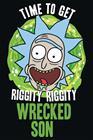 Rick And Morty Wrecked son Juliste monivärinen