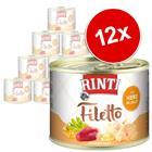 RINTI Filetto 12 x 210 g - kana & sydän hyytelössä