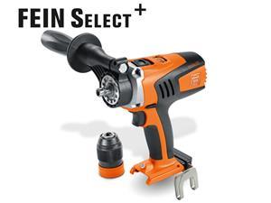 Pora/ruuvinväännin FEIN ASCM 18 QM Select; 18 V (ilman akkua ja laturia)