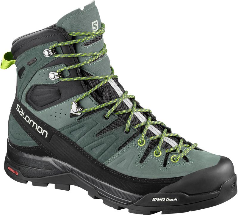Salomon X Alp High LTR GTX Miehet kengät vihreä 9b9a9aedca