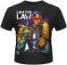 2000AD Judge Dredd I Am the Law, t-paita