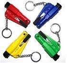 Hätävasara / turvavyöleikkuri / pilli avaimenperään