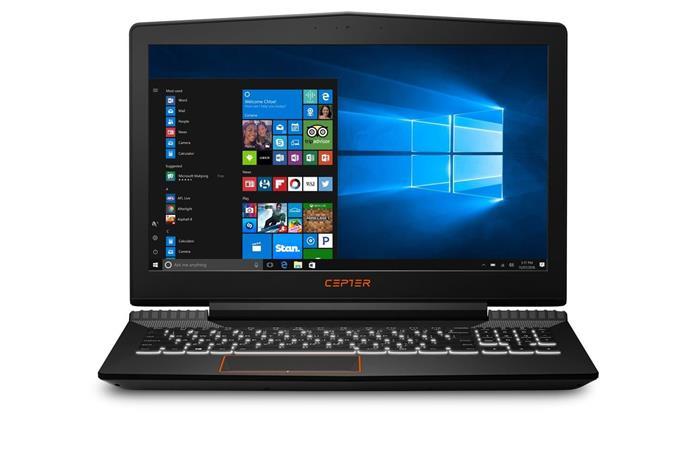 """Cepter Gaming X520-01 (Core i5-7300HQ, 8 GB, 1000 GB + 128 GB SSD, 15.6"""", Win 10), kannettava tietokone"""
