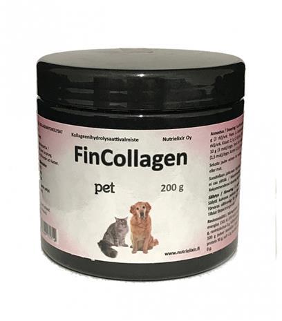 FinCollagen Pet, kollageenivalmiste nivelille 200 g