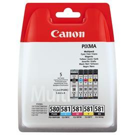 Canon CLI 581 C/M/Y/BK, mustekasetti