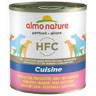 Almo Nature HFC 18 x 280 g / 290 g - nauta & kinkku (18 x 290 g)