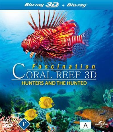 Fascination Coral Reef: Hunters & Hunted (3D Blu-Ray), elokuva