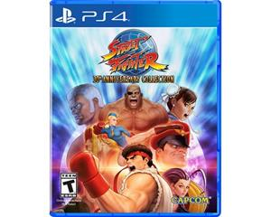 Street Fighter: 30th Anniversary Collection, PS4 -peli