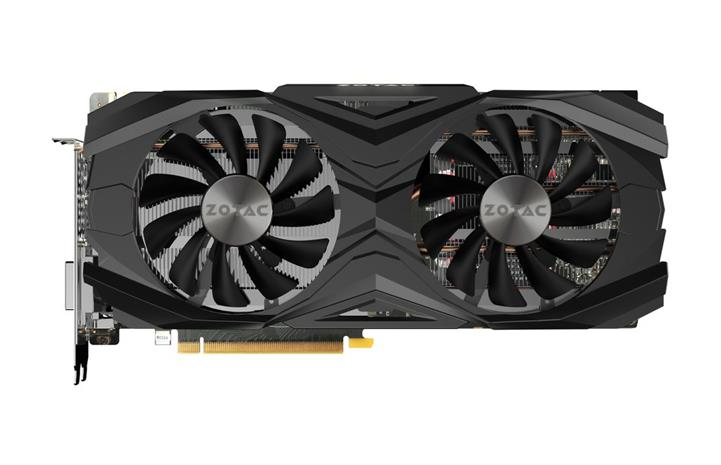 Zotac GeForce GTX 1070 Ti AMP Edition (ZT-P10710C-10P) 8 GB, PCI-E, näytönohjain