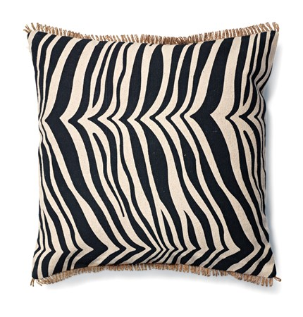 Classic Collection Zebra, koristetyyny 50 x 50 cm