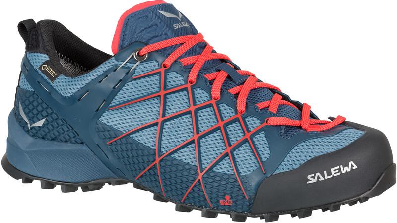 Salewa Wildfire GTX Miehet kengät punainen sininen 8d76d23345