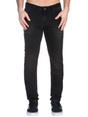 REELL Spider Jeans black wash Miehet