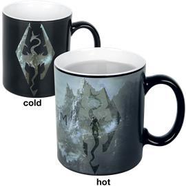 The Elder Scrolls V - Skyrim - Dragon Symbol - Lämpöön reagoiva muki Muki monivärinen