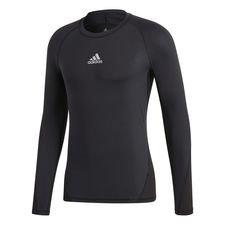 adidas Treenipaita Alphaskin Sport L/S - Musta Lapset