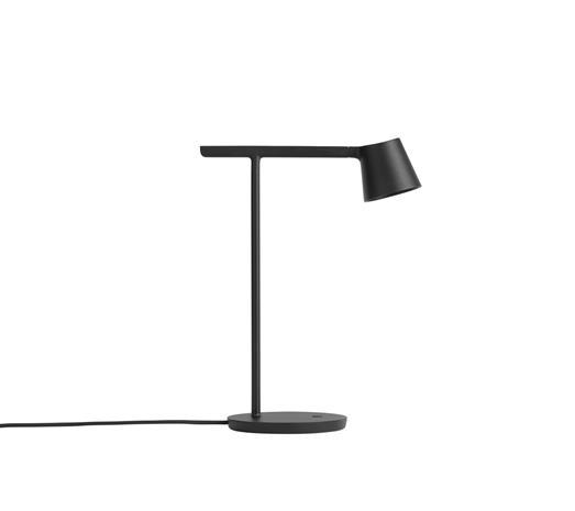 Muuto Tip-pöytälamppu musta