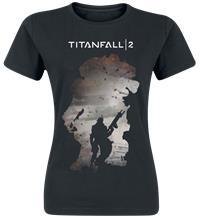 Titanfall 2 - Titan Scorch & Regie Naisten T-paita musta