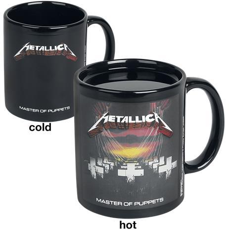 Metallica Master Of Puppets - Tasse mit Thermoeffekt Muki monivärinen