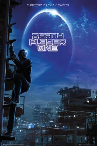 Ready Player One Ready Player One Juliste monivärinen