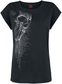 Spiral Bat Curse Naisten T-paita musta