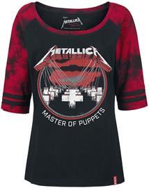 Metallica EMP Signature Collection Naisten pitkähihainen paita musta-punainen