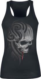 Spiral Death Roar Naisten toppi musta