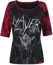 Slayer EMP Signature Collection Naisten pitkähihainen paita musta-punainen